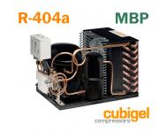 Среднетемпературные агрегаты Cubigel R 404a