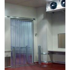 Комплект ПВХ завес 2 х 0,9 м (хладостой гладкая)