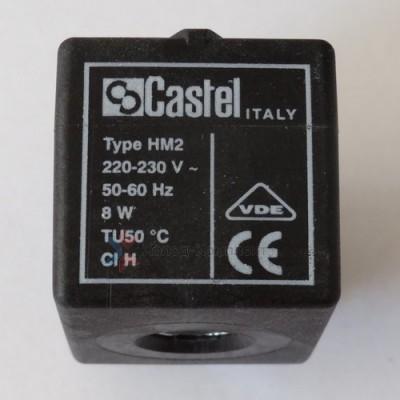 Катушка для соленоидного вентиля HM3 / 9120/RD1, 12 D.C., Castel