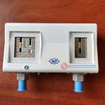 Реле давления сдвоенное Alco PS2-A7A (автомат. сброс), Alco Controls