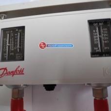 Реле давления сдвоенное Danfoss KP15 (автомат./автомат. сброс)