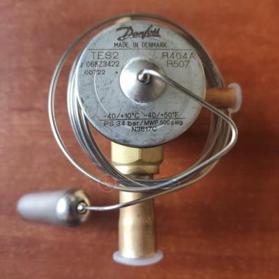 Терморегулирующий вентиль Danfoss TES2 (R404A/507), Danfoss