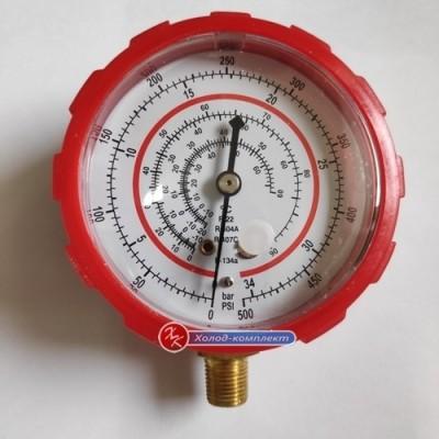 Манометр высокого давления под фреоны R22, R404a, R407c, R134a, Китай