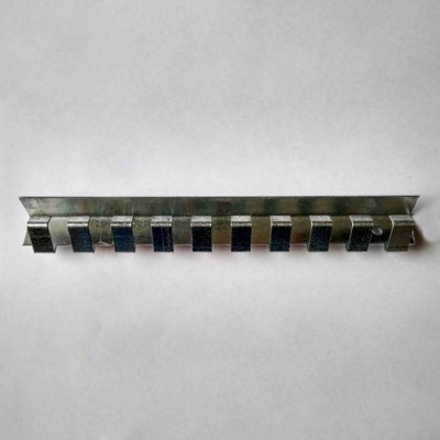 Карниз оцинковка 1,25 м для завесы, Холод-Комплект