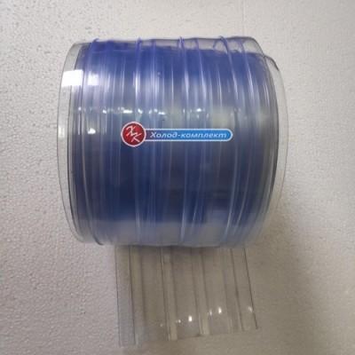 Лента для ПВХ-завес хладостойкая ребристая 300х2 мм, Hebei
