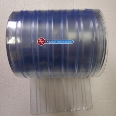 Лента для ПВХ-завес хладостойкая ребристая 200х2 мм