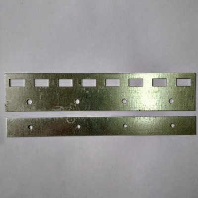 Пластина оцинкованная 200 мм для завесы