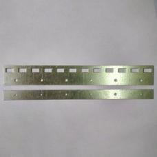 Пластина оцинкованная 300 мм для завесы