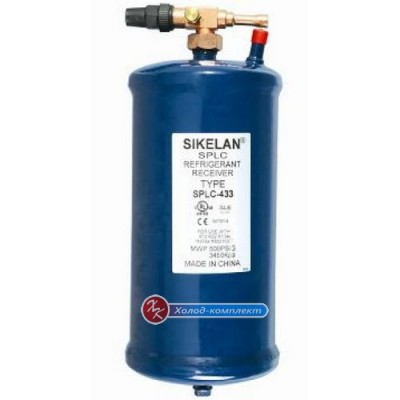 Ресивер Sikelan SPLC-433 со сменным вентилем роталок, Sikelan